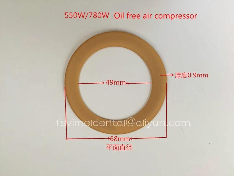 10 StüCk 1100W Dental Compressor Verwenden Kolben Polyimid Gummi Ring F7O4