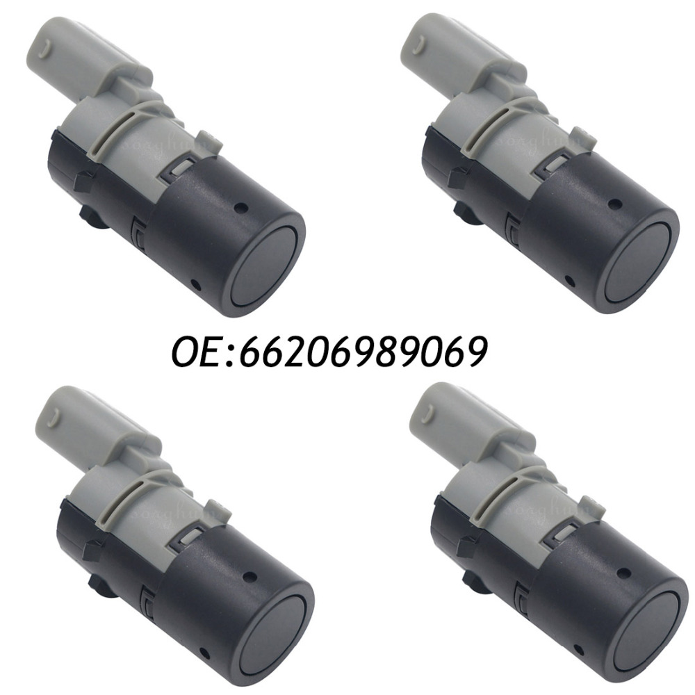 4PCS 66206989069 PDC Backup Parking Sensor For BMW E39 E46 E53 E60 E61 E63 X5 66