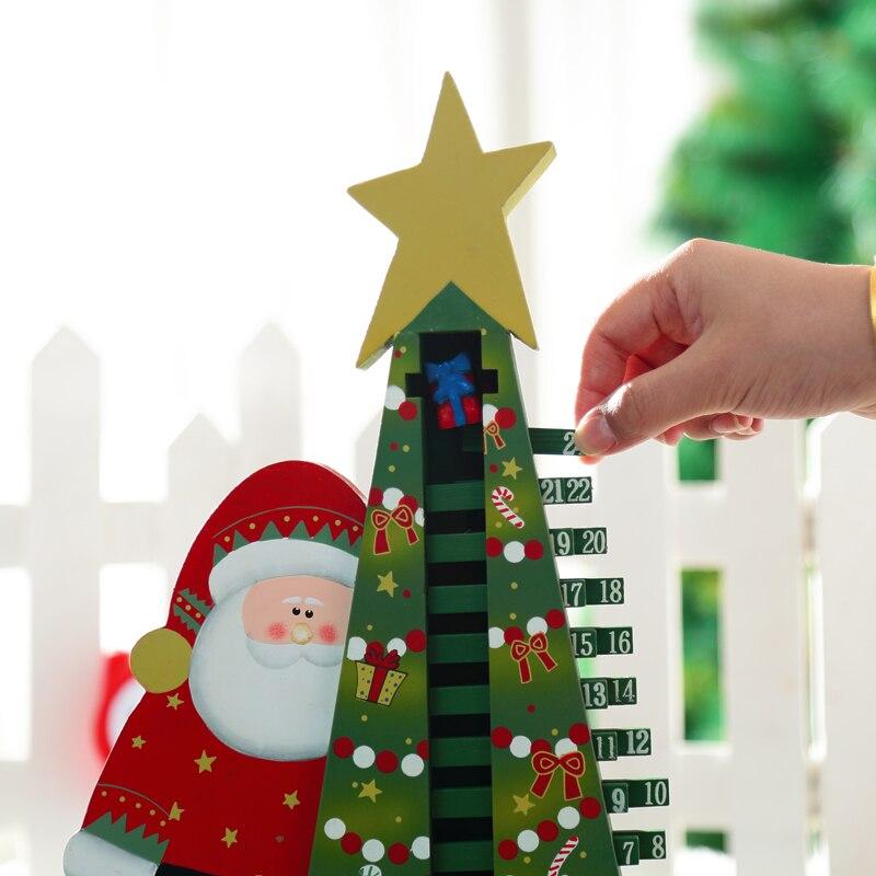 Weihnachtsgeschenk Mini Tisch Dekoration Holz Weihnachten ...