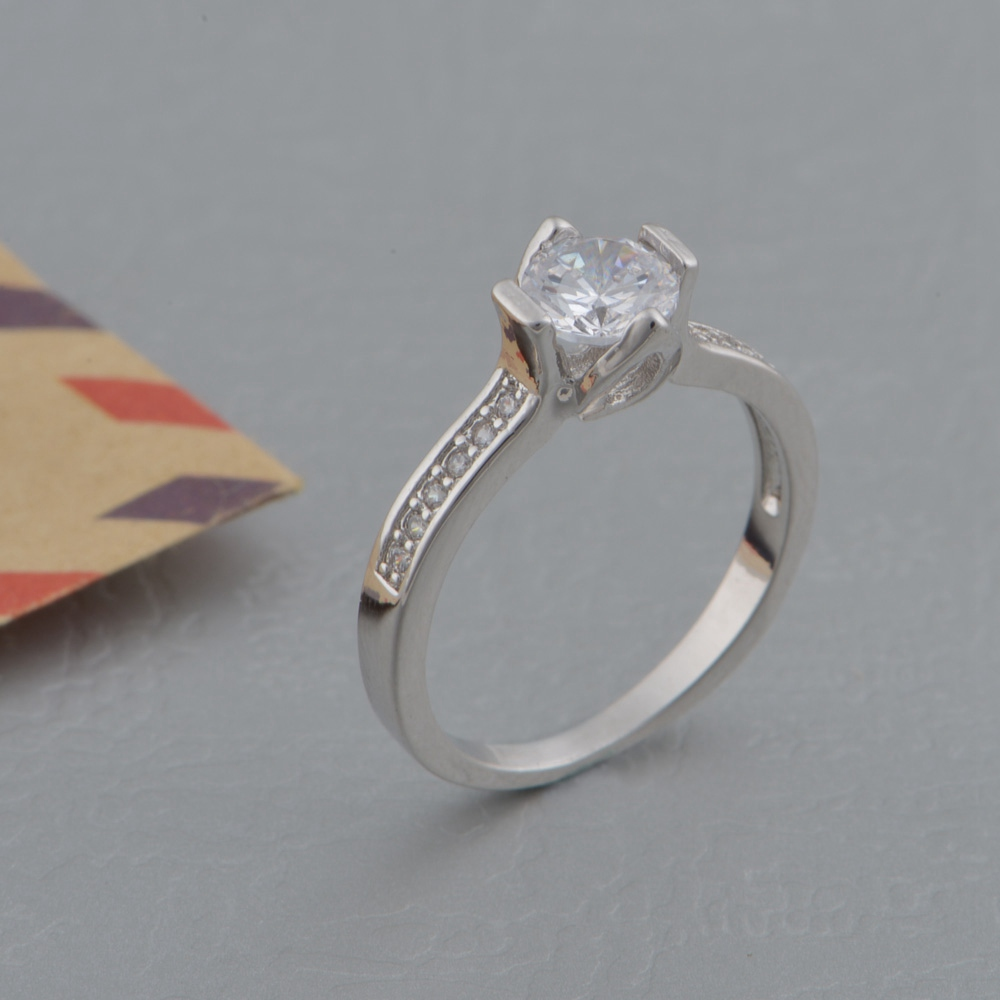 96d5a98fc7 New Couple 925 Ring Vashiria Fashion Nice Plated Gold Jewelry 925 Romantic  Imperial Crown CZ Nice Wedding Ring J607-in Rings from Jewelry &  Accessories on ...
