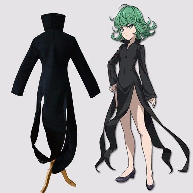 Anime Un Hombre Del Sacador Tatsumaki Cosplay Traje Gótico