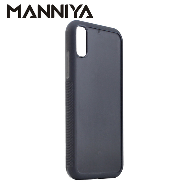Manniya Diy Empty Groove Rubber Tpu Pc Phone Case For Iphone Xr