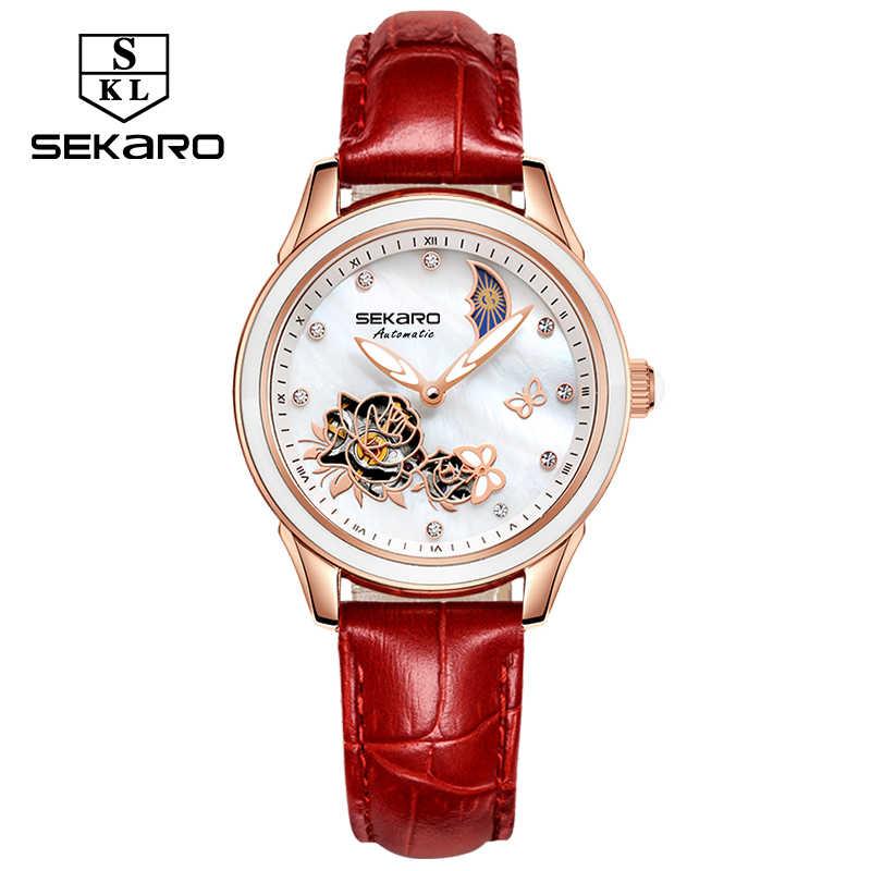 fa84d58c ... 2019 бабочка керамические часы женские наручные часы с сапфирами  Кристалл женские часы Женское платье деловые Relogio ...
