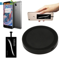 Qi Wireless Charger Pad Type C Wireless Charger Sticker Receiver For OnePlus 3T LJJ0118