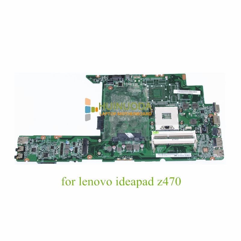 NOKOTION DAKL6MB16G0 For Lenovo Ideapad Z470 Laptop Motherboard Hm65 Ddr3 11S11013285