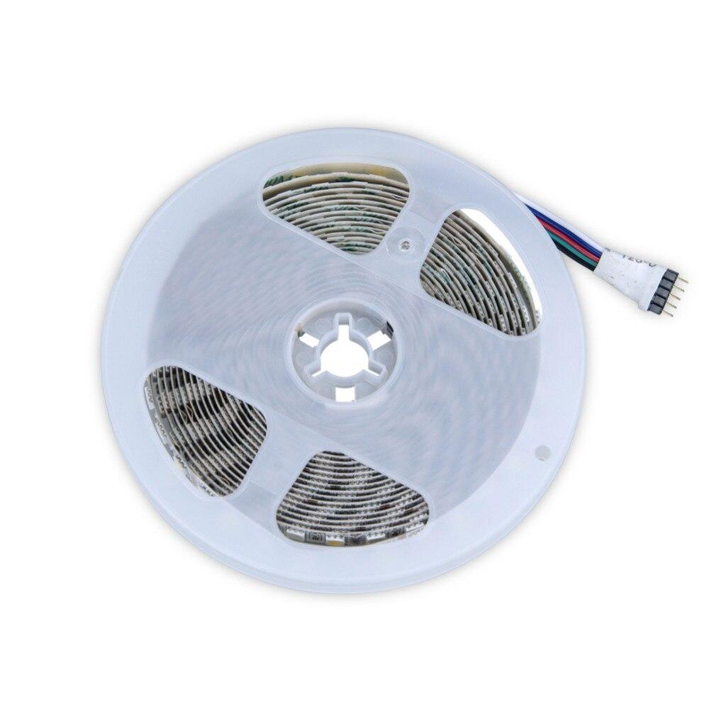 Knowledgeable 2018 Newest Led Strip 5050 Rgbw Waterproof Dc12v Led Neon Tape Light 96leds/m 5m/lot Rgb+white Led Strips Warm White 5050smd Rgb Ledstrip
