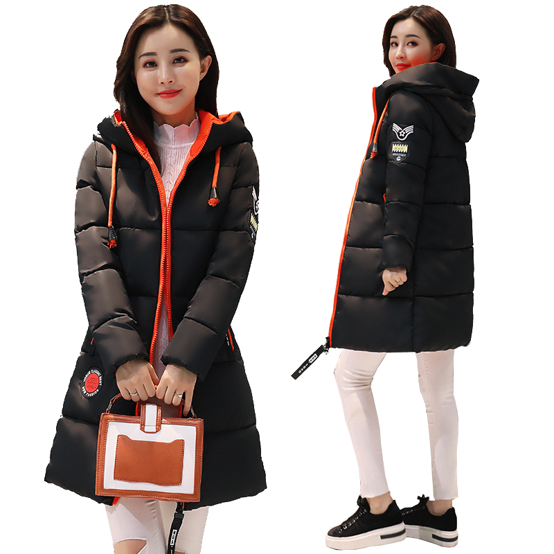 2018 Rushed New Winter Jacket Female Parka Coat Feminina Long Down Plus Size Hooded Duck Women