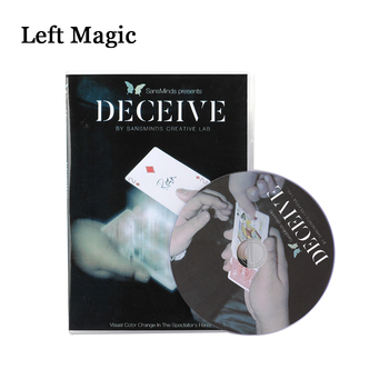 Deceive (Gimmick Material Included) By SansMinds Creative Lab Magic Tricks Close Up Street Mentalism Classic Card Magic Props
