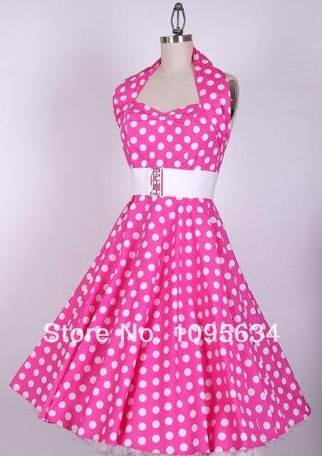Rockabilly kleid pink