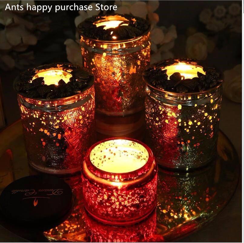 In Exquisite Metall Abdeckung Innere Abdeckung Modischer gelten Für Yankee Candle Voluspa Duft Kerze Eisen Kunst Kerze Abdeckung Wärme-beständig Anti-wand Stil;