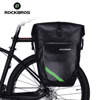 Rockbros 100 Waterproof Large Capacity Bicycle Rack Bag Cycling Rear Luggage Basket MTB Mountain Bike Bag