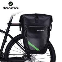 Rockbros 100 Waterproof Large Capacity Bicycle Rack Bag Cycling Rear Luggage Basket MTB Mountain Bike Bag