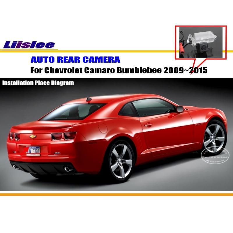 Liislee cámara trasera del coche para Chevrolet Camaro Bumblebee ...