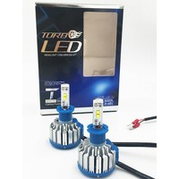 2X T1 Car Headlight LED CSP H3 70W 7000lm Auto Bulb Headlamp 6000 6500K Light