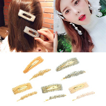 2x Korea Fashion Hair Clips Barrettes Women Hairpin Accessories Decorations for Lady Girls' Hairstyle