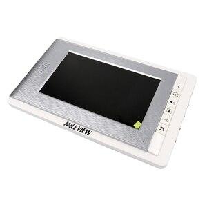 Image 2 - Visiophone avec écran couleur 7 pouces, système dinterphone vidéo de porte/sonnette pour 2/3/4 maisons, en Stock, livraison gratuite