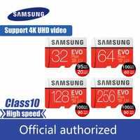 Originale PER SAMSUNG EVO Più Scheda di Memoria 64GB U3 EVO + 128GB 256GB Class10 Micro Carta di DEVIAZIONE STANDARD 32GB 16GB microSD UHS-I U1 Carta di TF