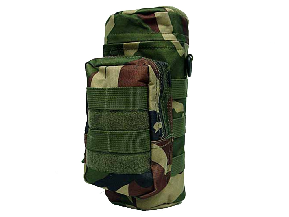 Tactical Molle Water Bottle Pouch Water Pack Military Airsoft Hunting 095 WC