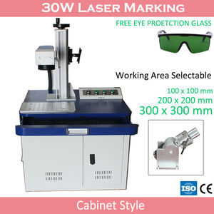 Portable Mini Cnc Color 3d Laser Engraving Printer Machine For Gold And Silver Jewelry With 300x300mm Working Area