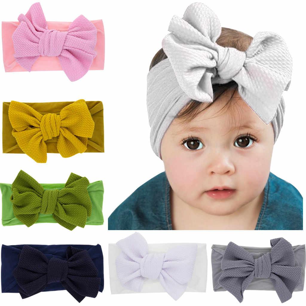 Noworodka maluch dzieci opaski do włosów dla dzieci dziewczyna turban head łuki dla dzieci dziewczyny niemowląt opaski dla dzieci głowy okłady dla dzieci akcesoria
