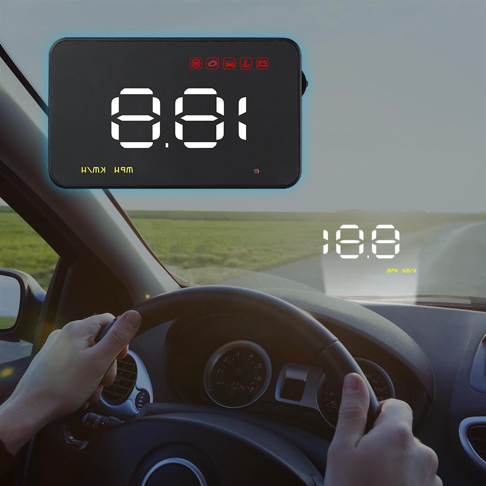 Проектор Скорости на лобовое стекло HUD A1000 автомобильный