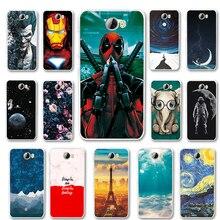 53db2eaf374 Soft Silicon Phone Cases For Huawei Y5 ll Y5ll Huawei Y5 2 5.0''Back