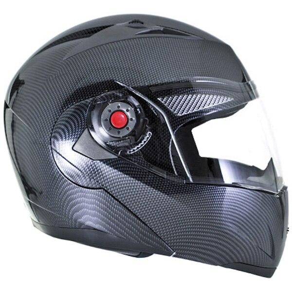 c2f04d5f16a26 Ilm motocicleta casco aprobado por el dot cascos de fibra de carbono ...
