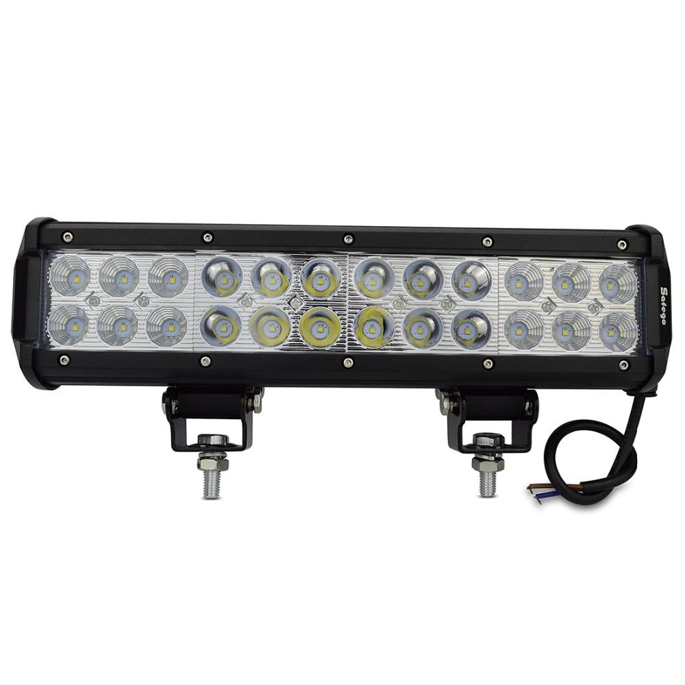 1 τεμ 12inch οδήγησε φως μπαρ 24pcs * 3w LED - Φώτα αυτοκινήτων - Φωτογραφία 2