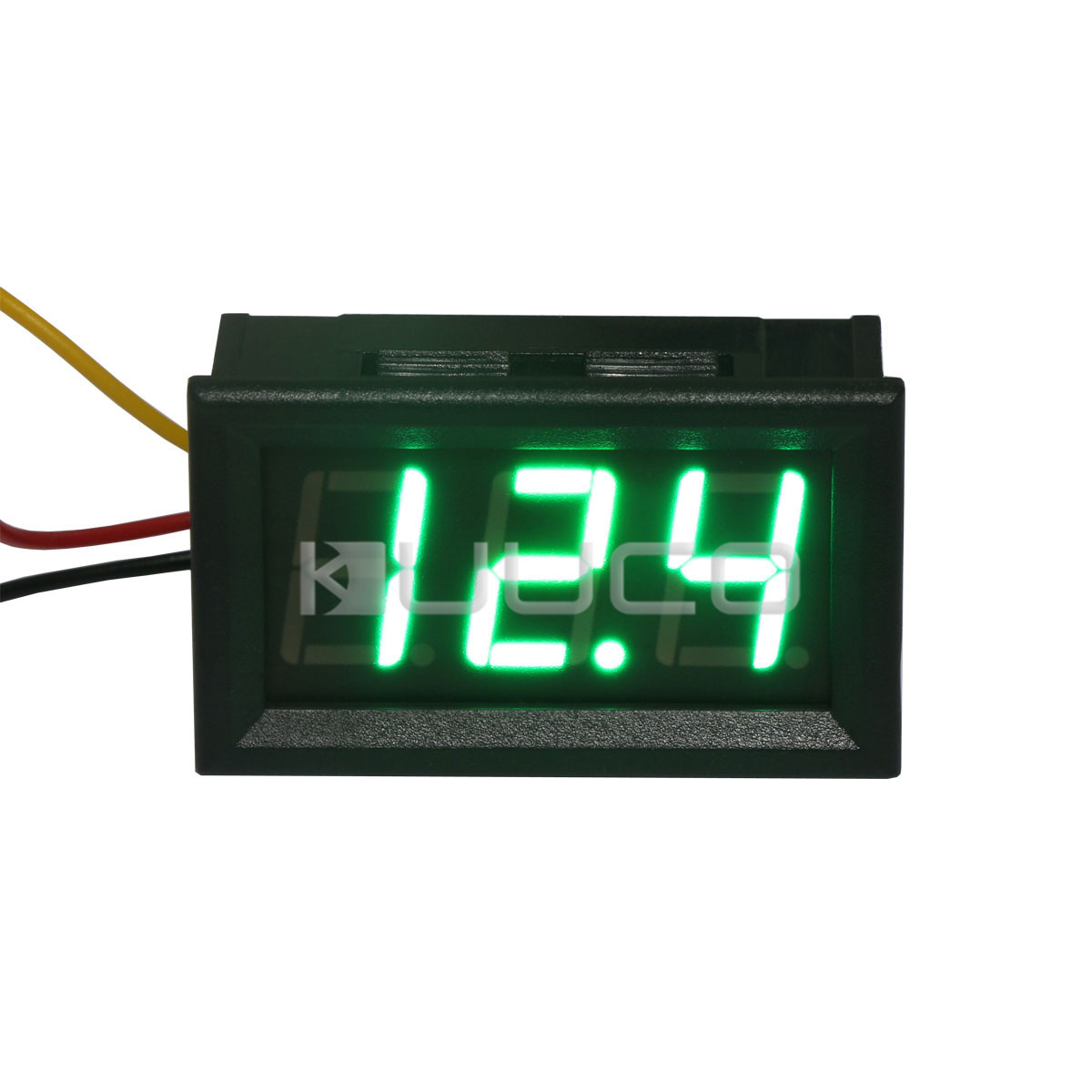 DC 0~300V Green LED Digital Voltmeter Mini Car Volt Monitor Panel Meter DC 12V 24V Voltage Meter Tester