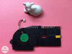 for ASUS VivoBook S200E X201E X202E laptop Heatsink Assembly Radiator Cooler cooling fan cpu fan tested USED(China)