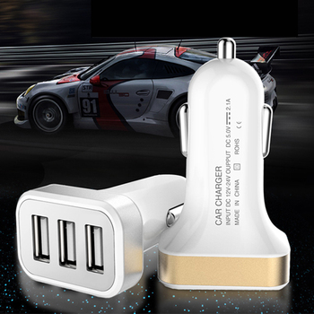 2/3 USB 2.1A /1A car-styling Car Charger phone for Huawei Honor 4C Pro Y6 Pro Enjoy 5 Holly 2+ 5X Play 7 Mate 8 S P8 Lite P9 P10
