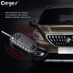 Image 4 - Ceyes 자동차 액세서리 스타일링 보호 쉘 커버 케이스 시트로엥 c2 c3 c4 c4l c5 c6 푸조 208 207 308 rcz 2 3 버튼
