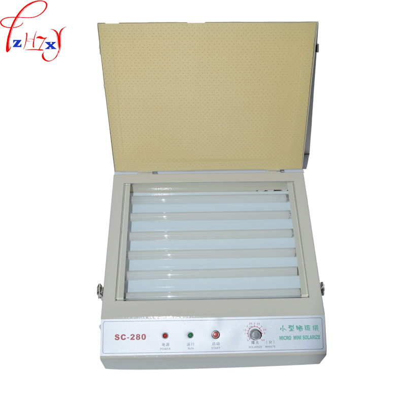 SC-280 UV Exposure Unit for Hot Foil Pad Printing PCB/resin version printing-down machine/PS edition print machine