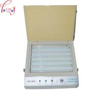 SC-280 uv露光ユニット用ホット箔パッド印刷pcb/樹脂バージョン印刷-
