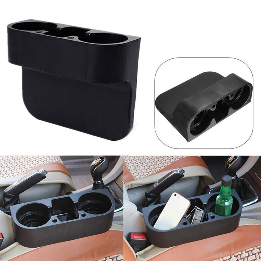 Black Cup Holder Drink Beverage Seat Seam wedge Car Auto Truck ...