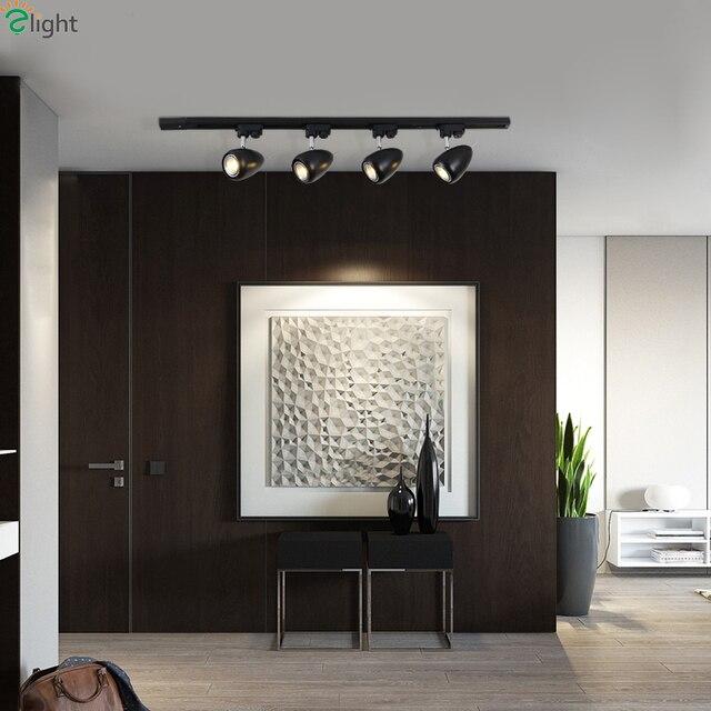 Moderne Einfache Metall Fuhrte Deckenleuchten Glanz Drehbare