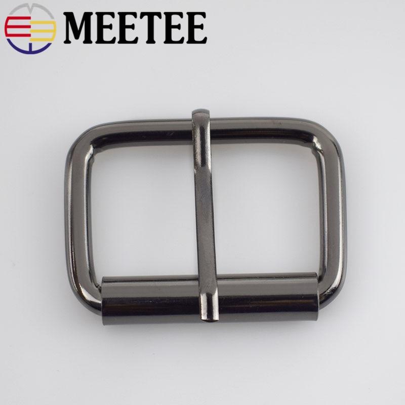 5stk Meetee 1.3-3.8cm Metal Sko Väska Bälte Rem Pin Spännen Dekor - Konst, hantverk och sömnad - Foto 5