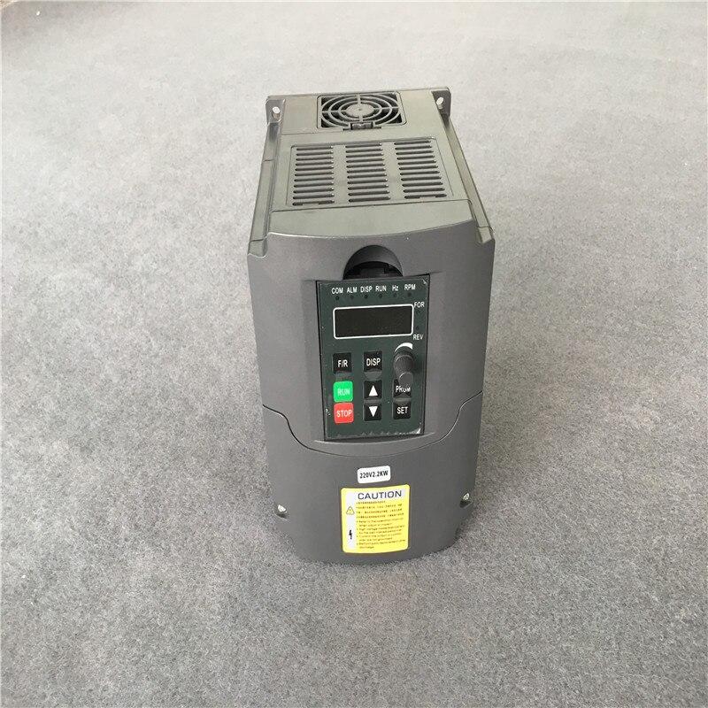 110V 220V 380V 1.5KW/2.2KW/3KW AC convertisseur de fréquence Variable convertisseur VFD convertisseur de vitesse inverseur pour CNC