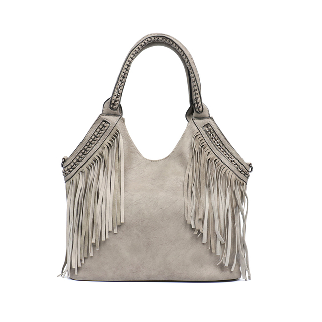 Large Tassel Tote Bag