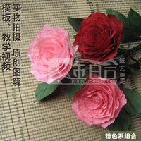 Diy origami rose naar vrienden en familieleden familie vakantie decoratie ingemaakte woonomgeving