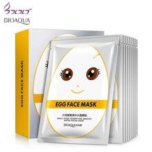 BIOAQUA eggs facial mask beauty face care antioxidant face m
