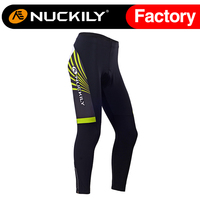 Nuckily Winter women's Cycling Tights Thermel Fleece Padded Pant Cycle Legging Long Trouser GF010