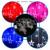 2017 Bombillas Globos Bolas Estrella de Cinco Puntas Decoración Fiesta de Navidad de Luces de Hadas de Cuerda Lámparas LED 220 V LLEVÓ Cortina de la Estrella luz