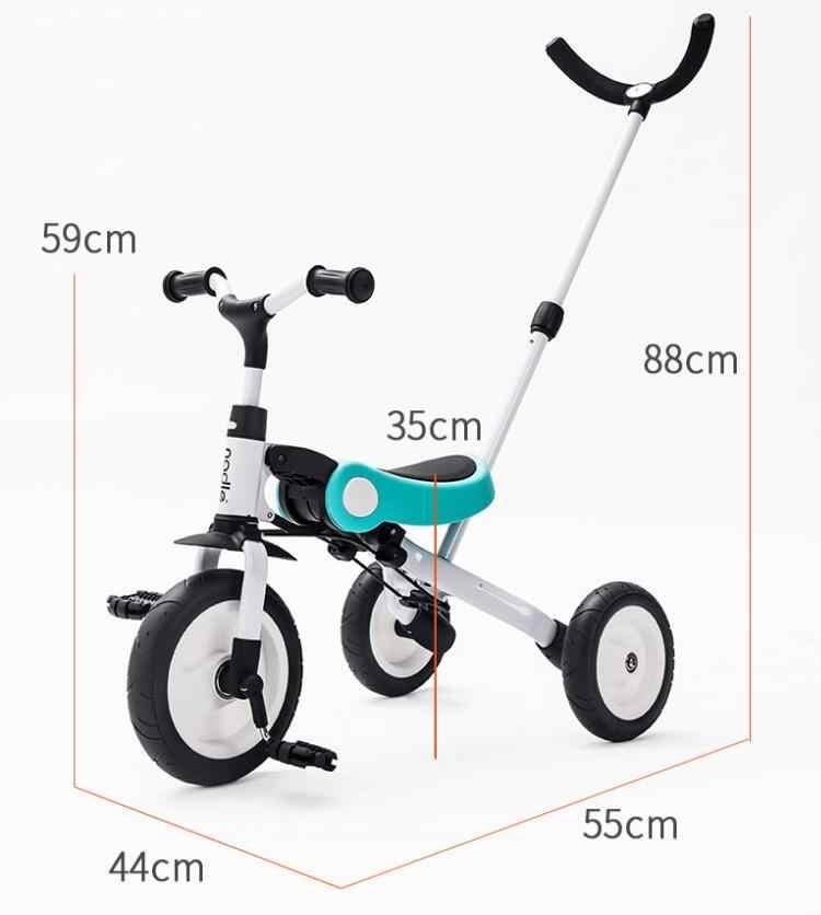 おもちゃベビー三輪車子供折りたたみ自転車子供スクーター