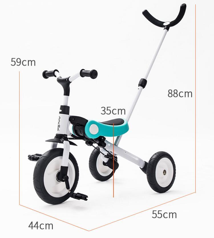 Monter sur des jouets bébé Tricycle enfants pliant vélo enfants Scooter - 6