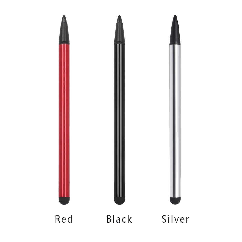 2 in1 מגע מסך עט חרט אוניברסלי עבור iPhone iPad סמסונג Tablet טלפון