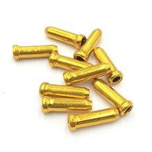 10 шт./партия, алюминиевый сплав, заглушка для велосипедного кабеля, s наконечники, заглушка для велосипедного велосипеда, s наконечники для велосипедного наконечника