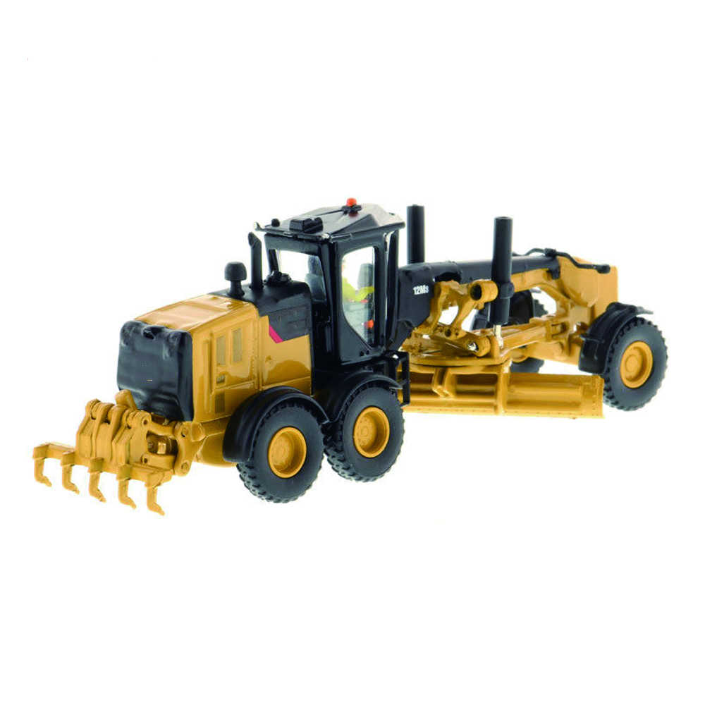 Collection Diecast Model Car DM 1:87 Scale 12M3 Motor Grader-High Line Series 85520 Truck Model Kids Toys Collection Gift