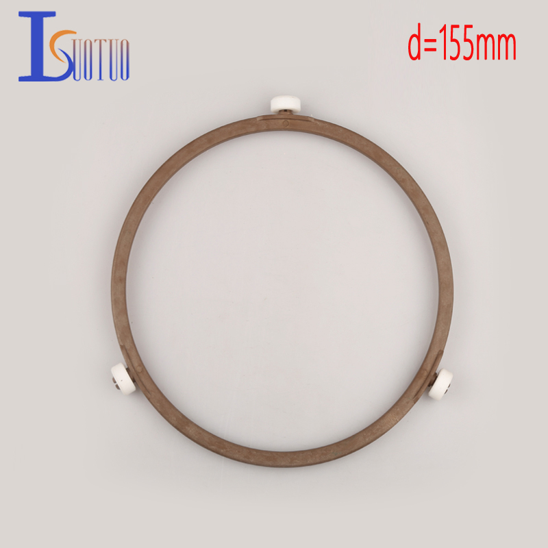 155mm outer diameter original Galanz microwave oven runner wheel bracket tray circle bracket microwave oven parts.
