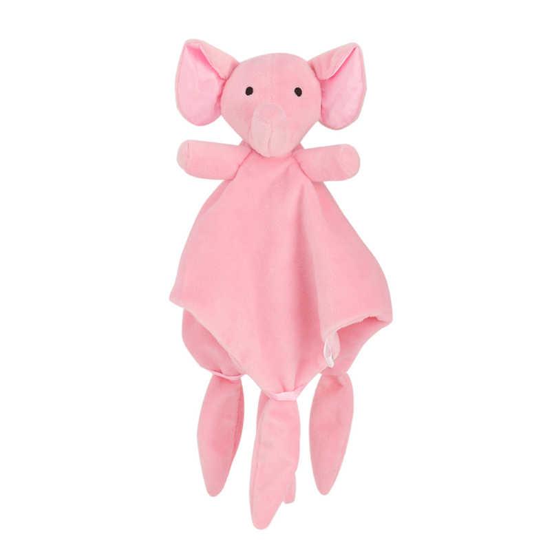 جديد لينة استرضاء منشفة ألعاب الأطفال تهدئة طمأنة النوم الحيوان بلانكي منشفة خشخيشات تعليمية البطلينوس لعبة Bebes اللعب دمية